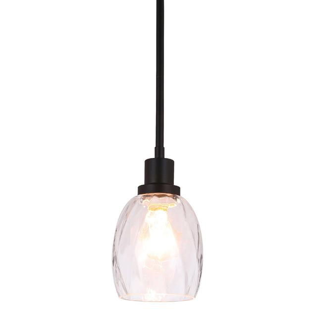 Pendant Light Modern 1 Light Mini Pendant Hanging Light With Clear
