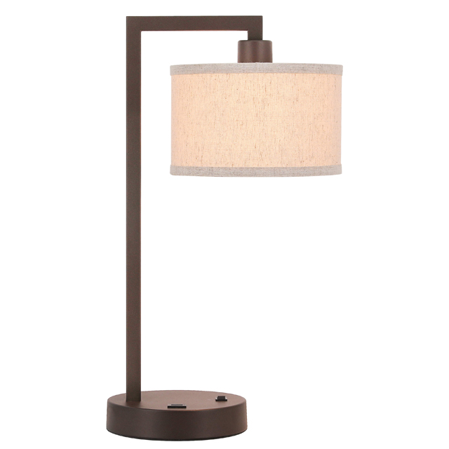 Xinbei Lighting Table Lamp Desk Lamp With Usb And Fabric